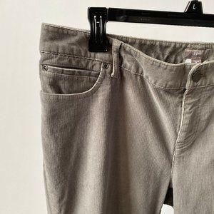 J Jill Slim Leg Corduroy Jeans Sz 14